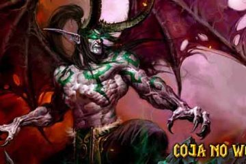 Illidan Tempestfúria Coja no WoW