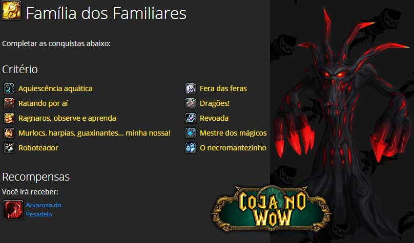 familia-dos-familiares-conquista-recompensa-arvoroso-do-pesadelo-coja-no-wow-iakyta-world-of-warcraft