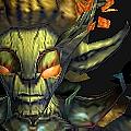dente-de-leao-bagunceiro-mascote-batalha-warcraft