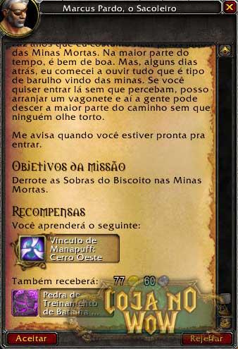 marcus-primeira-missao-minas-mortas-warcraft-masmorra-cenario-batalha-de-mascote-wow