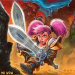 gnomos-lore-wow-guerreira-furia
