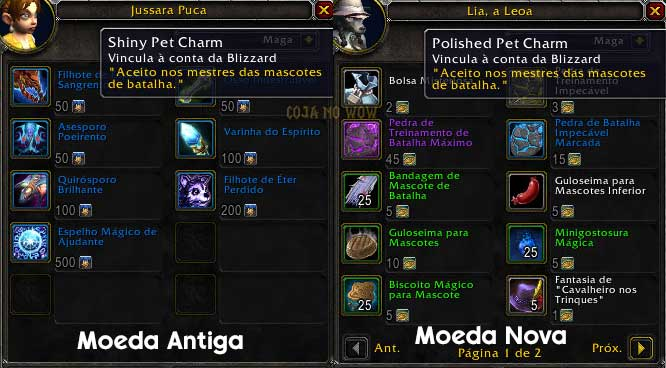 batalhas-de-mascote-battle-for-azeroth-novidades-polished-pet-charm-shiny-pet-charm-iakyta-coja-no-wow-world-of-warcraft